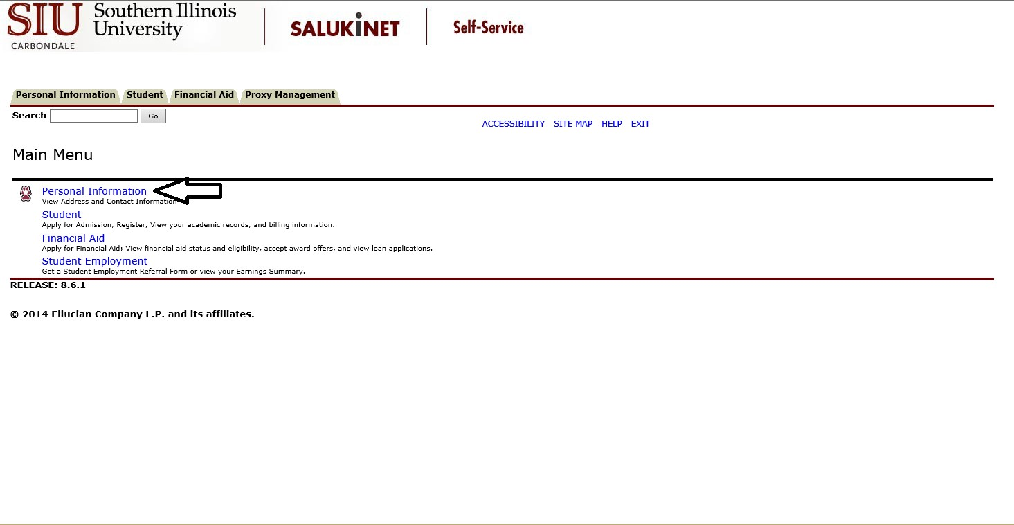 Emergency Alerts Students SalukiTech – Financial Release Form